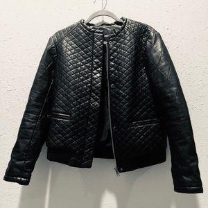 ASOS brand Vegan Leather Jacket